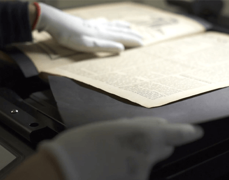 Digitalizace kulturního dědictví, skenování knih, skenování kronik.