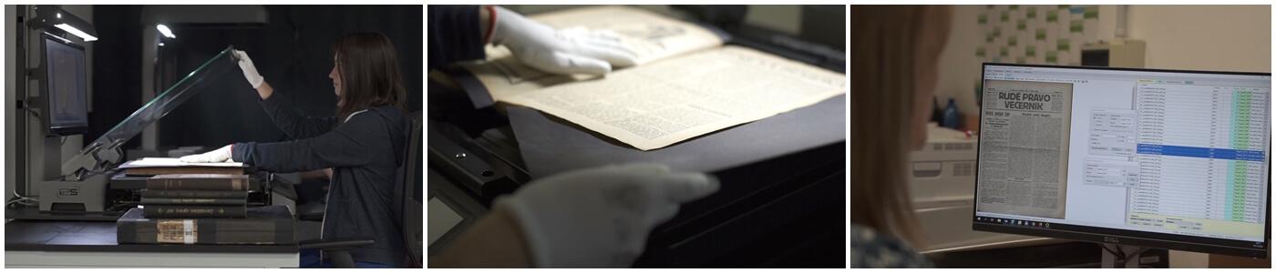 Skenování kulturního dědictví - PSP balíčky