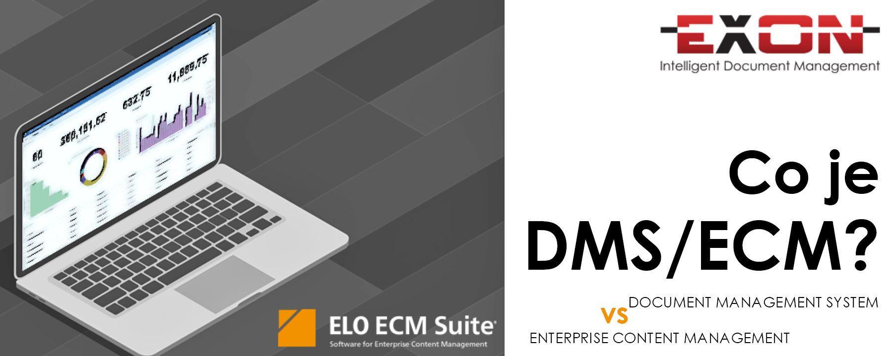 Co je to DMS ECM? Rozdíl mezi document management system a enterprise content management