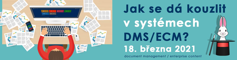 Pozvánka na webinřá EXON: Jak se dá kouzlit v systémech DMS/ECM?